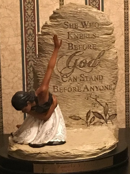 She Who Kneels before God Can Stand Before Anyone